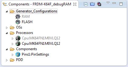 Processor Expert Project for FRDM-K64F