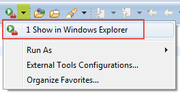 Show in Windows Explorer