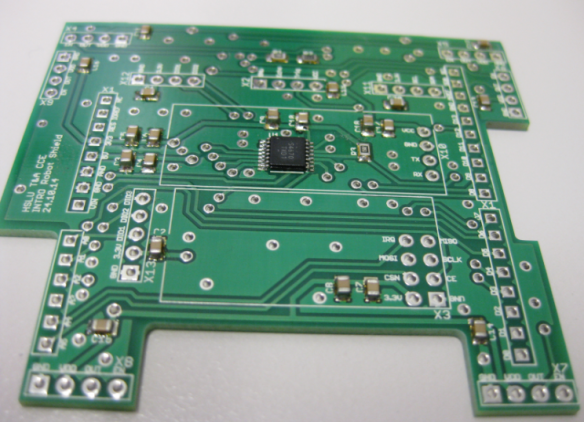 SMD Components Populated