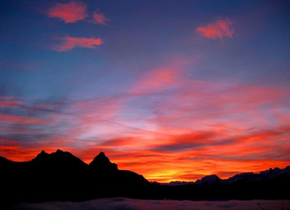 Christmas Morning Sunrise Light