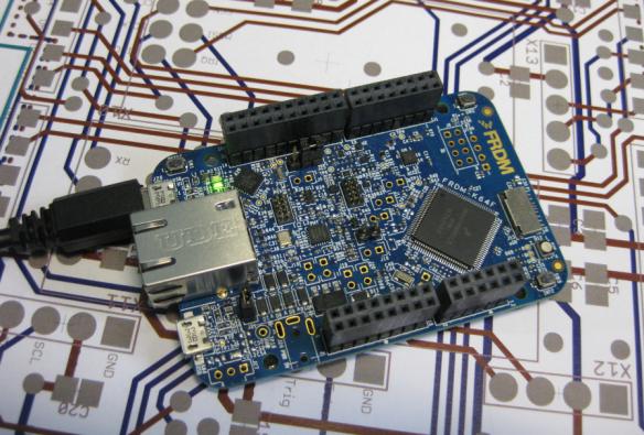 Freescale FRDM-K64F Board