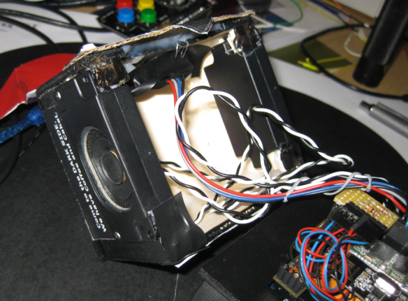 Loudspeaker and Ultrasonic Sensor Housing