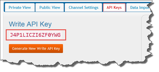 new API Key