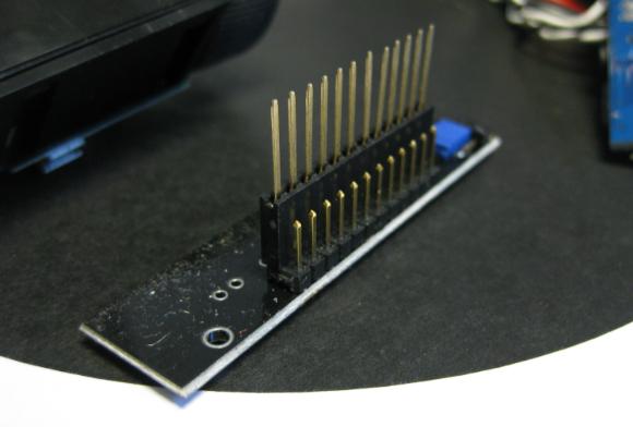 Reflectance Sensor Header