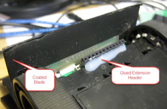 Sensor and Blade Details