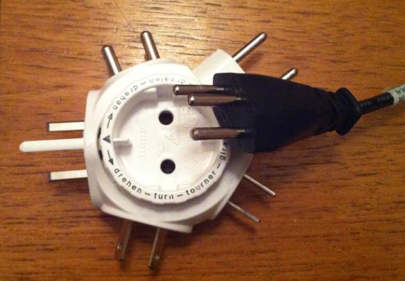 Travel Power Adapter Mismatch