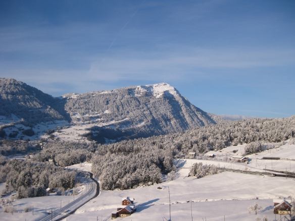 Rigi Covered with Snow