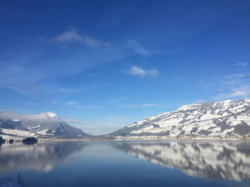 Rigi and Rossberg in Winter