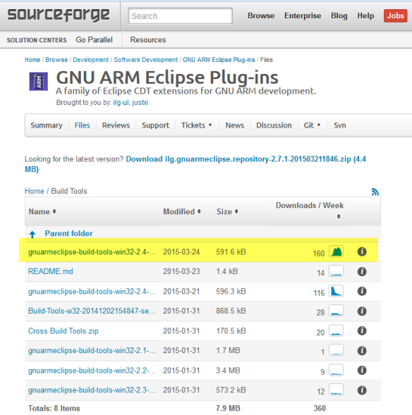 GNU ARM Eclipse Build Tools