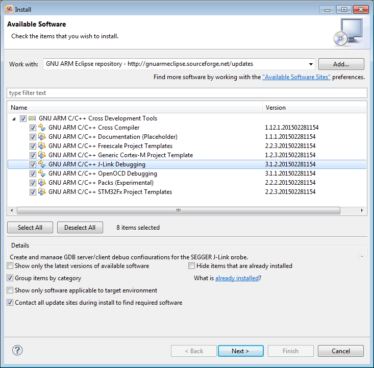 Attaching to a Running Target with Segger J-Link, GDB and