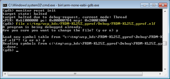 Loading ELF File with GDB