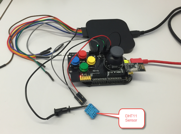 Using the DHT11/DHT22 Temperature/Humidity Sensor with a FRDM Board