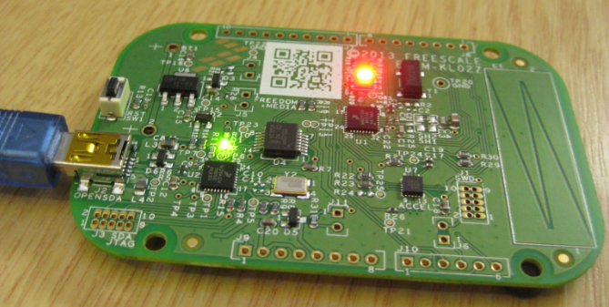 UART with the FRDM-KL02Z Board | MCU on Eclipse
