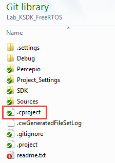 CDT cproject Eclipse File