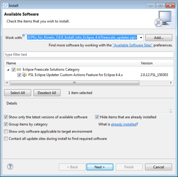 Freescale Updater