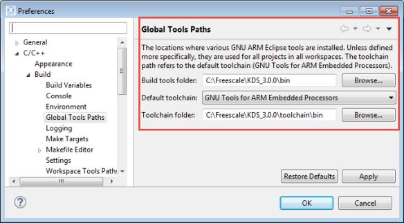 Global Tools Path
