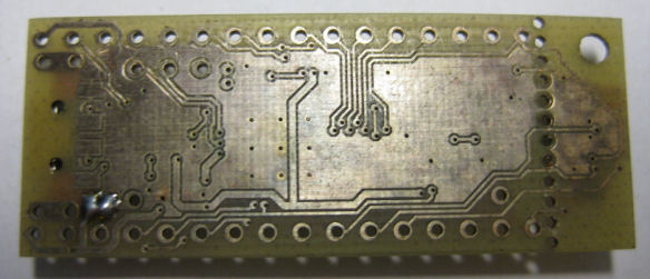 K20 Board Back Side
