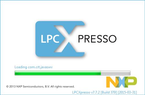 LPCXpresso v7.7.2