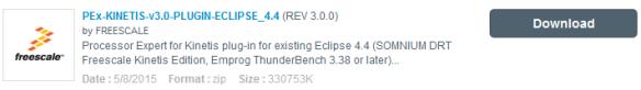 Processor Expert for Kinetis V3.0.0