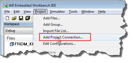 Add Project Connection