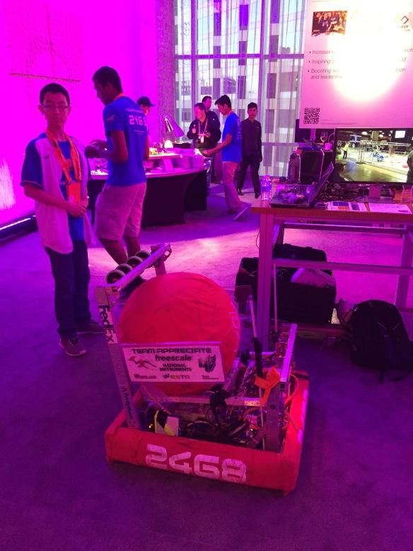First Robotics Robot