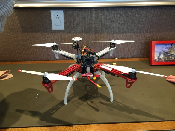 FRDM-K64F Quadcopter with Pixy Camera