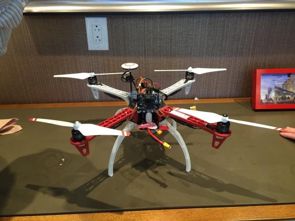 FRDM-K64F Quadcopter with Pixy Camera