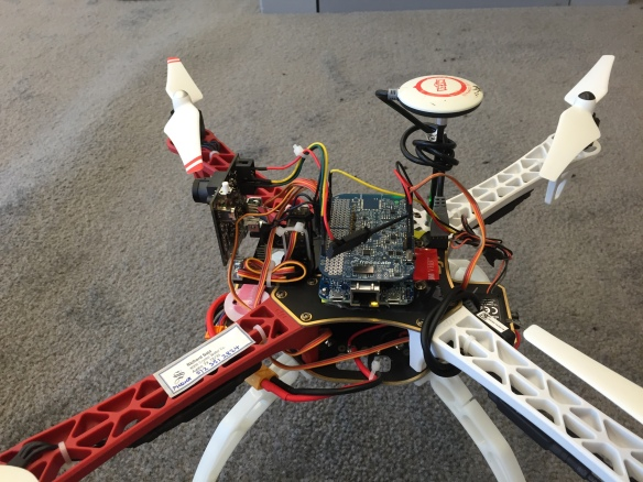 FRDM-K64F Quadrocopter Brain