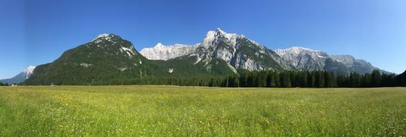 Wetterstein Panorama