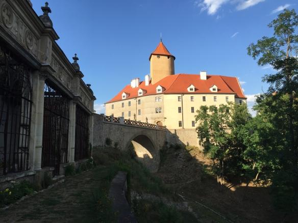 Castle Veveri Bridge