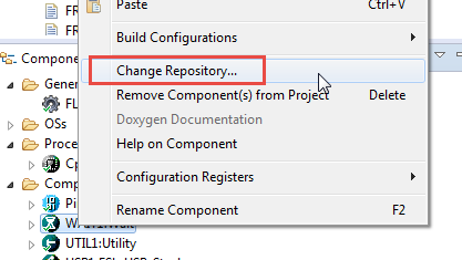 Change Repository