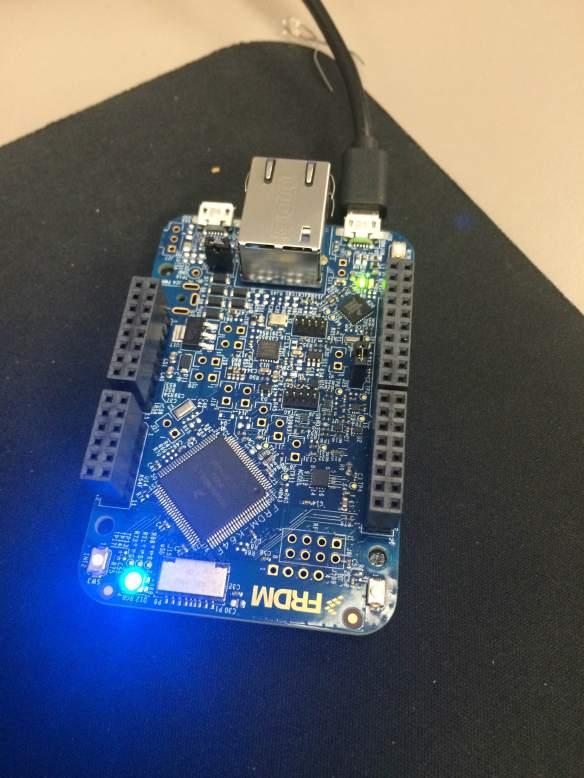 LED on FRDM-K64F