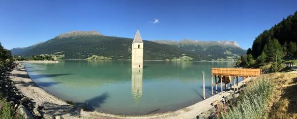 Bell Tower of Lake Reschen