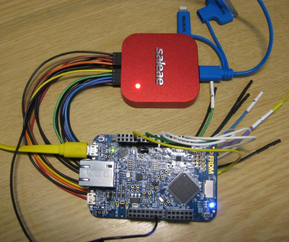 Probing FRDM-K64F with Logic Analyzer