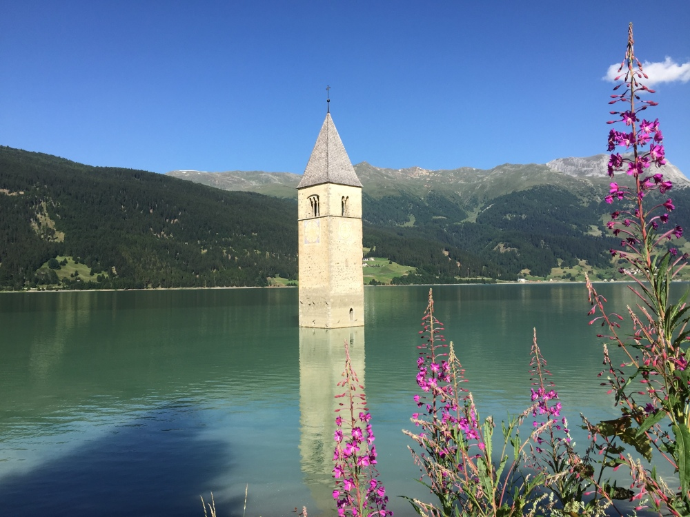 Reschensee Glockenturm