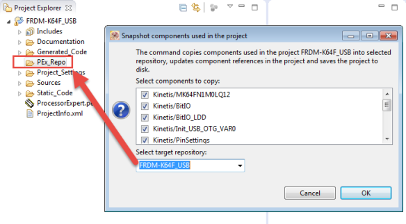 Storing Components inside project
