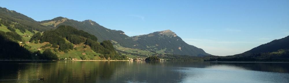 Sunday Morning Start on Lake Lowerz