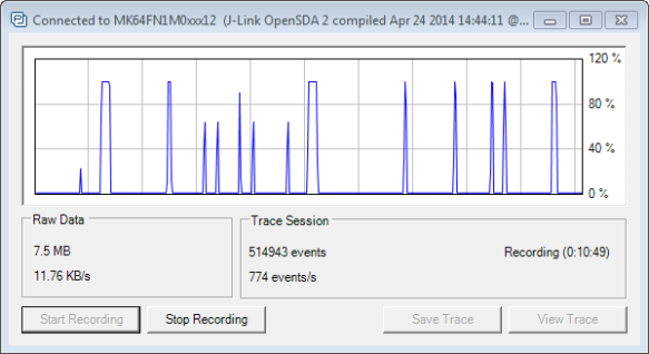 Trace Performance Monitor
