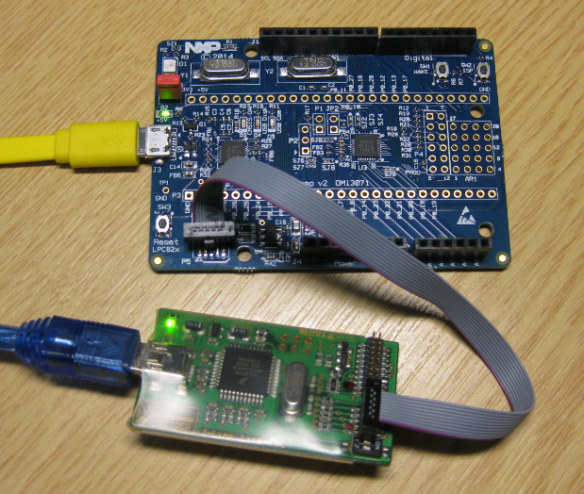 Debugging the NXP LPC824 with Freescale J-Link Lite
