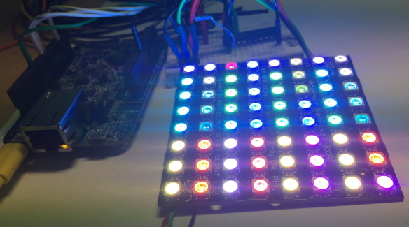 FRDM-K64F with Adafruit NeoPixel