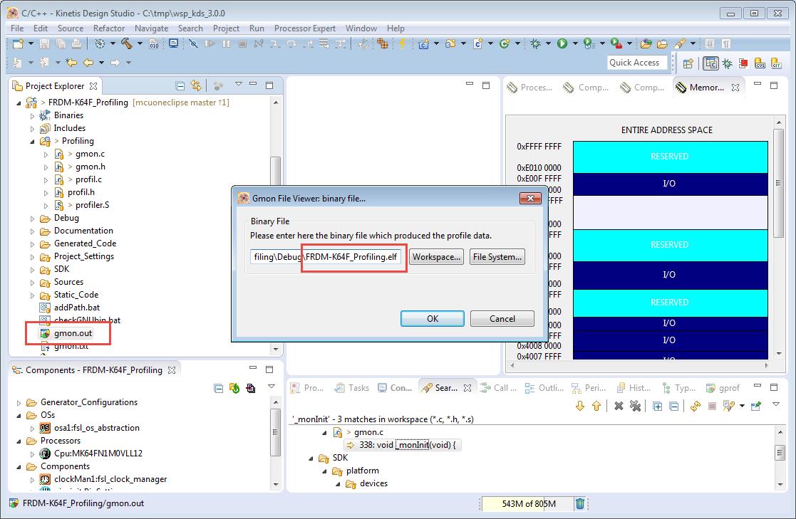 Tutorial: Using GNU Profiling (gprof) with ARM Cortex-M | MCU on Eclipse