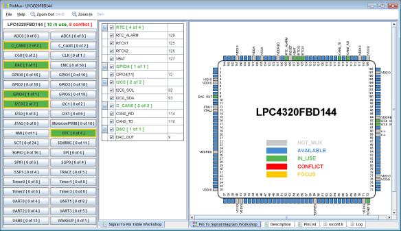 Pin Muxing Utility (NXP)