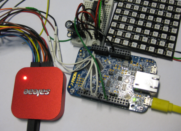 Probing Signals with Logic Analyzer