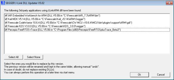 Segger J-Link Toolchain Detection