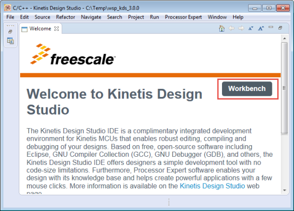 Welcome to Kinetis Design Studio