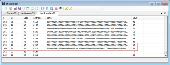 64bytes in a line