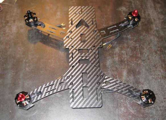 Base Frame with Motors