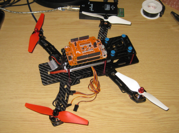 FRDM-K22F with Quadrocopter