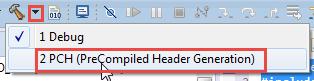 Generating Precompiled Headers
