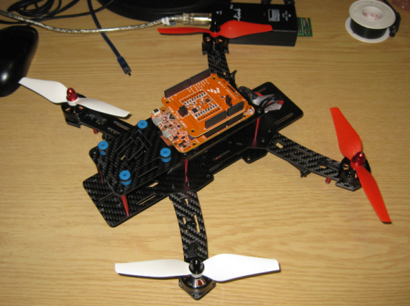 Kinetis Quadrocopter Drone